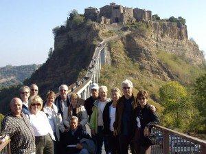 Civita di Bagnoregio in the region of Lazio, visited on our Tuscany Umbria tour