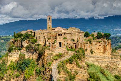 Civita di Bagnoregio with Amber Road Tours