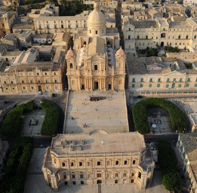 the Baroque town of Noto Sicily
