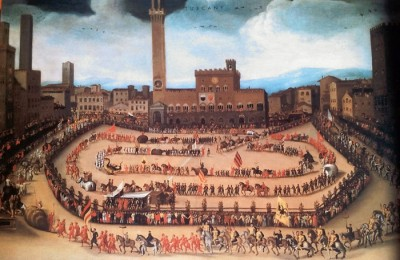 Siena in medieval times. Tuscan Hill Towns tour