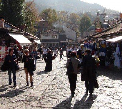 Sarajevo. Croatia and Bosnia tour