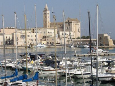 The port of Trani. Amalfi Coast to Apulia