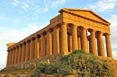 Concordia temple Agrigento Sicily