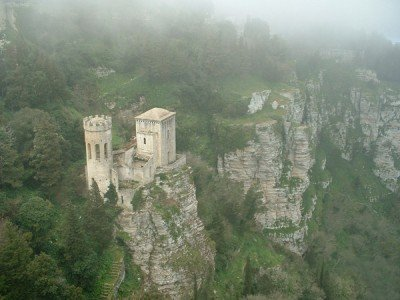 Pepoli and Venere Castles at Erice Sicily