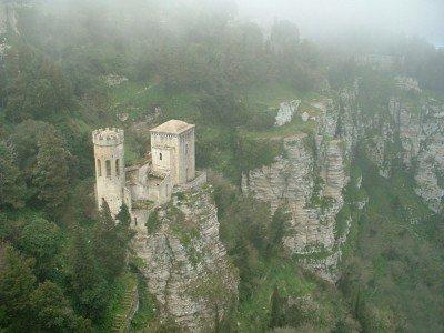 Pepoli and Venere Castles at Erice Sicily