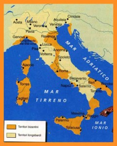 Longobard reign in Italy 7th century. Friuli Venezia Giulia and Slovenia tour
