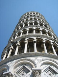 The Leaning Tower of Pisa on our Lucca, Genova & Cinque Terre tour