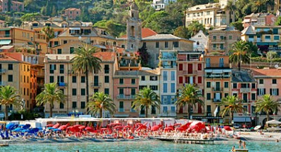 Santa Margherita Ligure, part of our Lucca, Genova & Cinque Terre tour