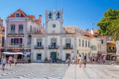 Cascais town square, Portugal